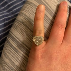Jewelry - Sterling silver photo ring